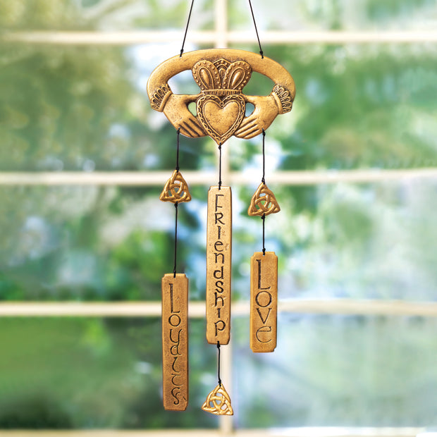 Claddagh Windchime