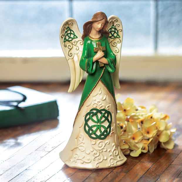 Irish Angel With Cross