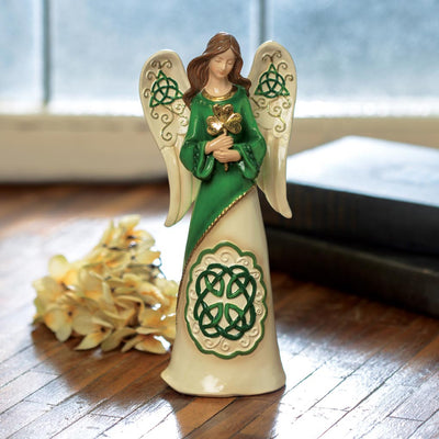 Irish Angel With Shamrock