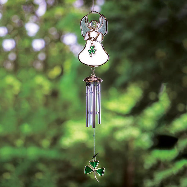 Stained Glass Angel Wind Chime