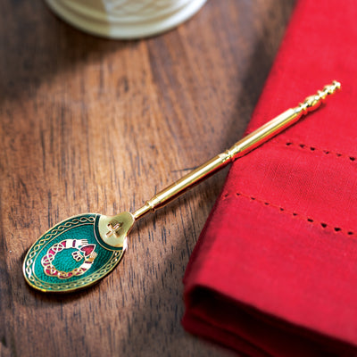 Enamel Claddagh Teaspoon
