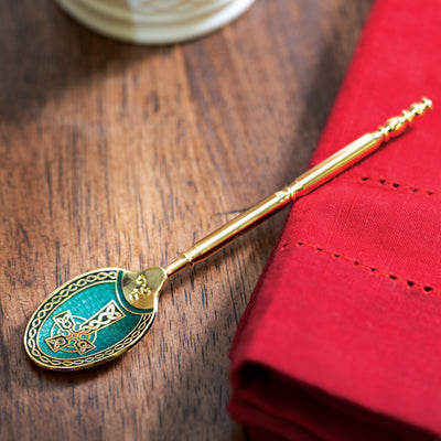 Enamel Cross Teaspoon