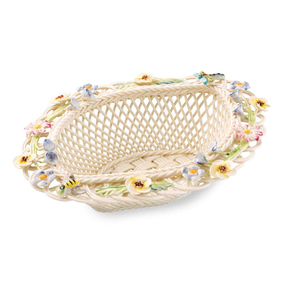 Belleek Summer Flowers Basket