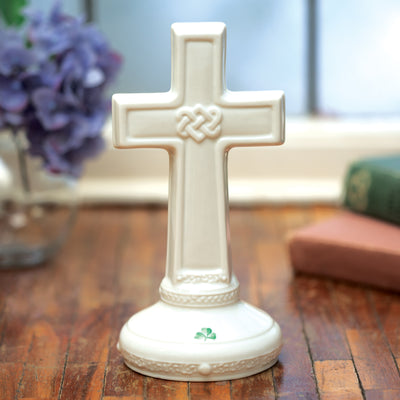 Belleek Celtic Cross