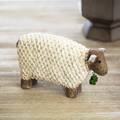 Shamrock Lamb Figure