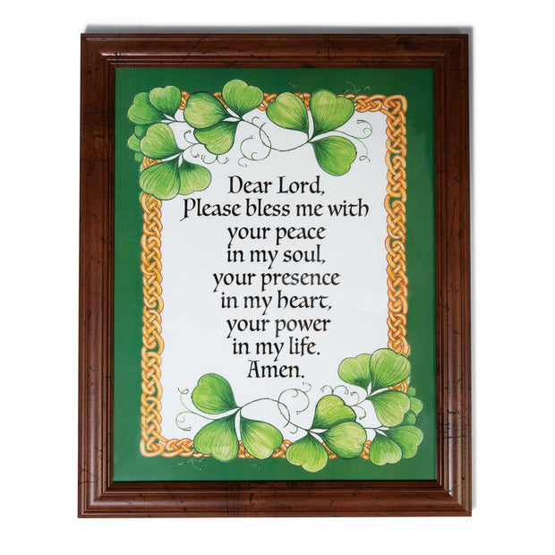 Dear Lord Please Bless Me Framed Print