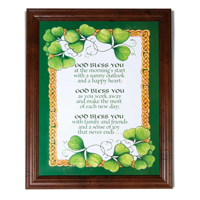 God Bless You Framed Print
