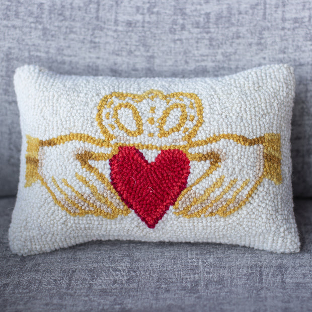 Claddagh Pillow