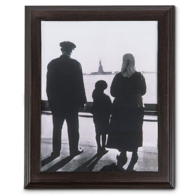 Ellis Island Framed Photo