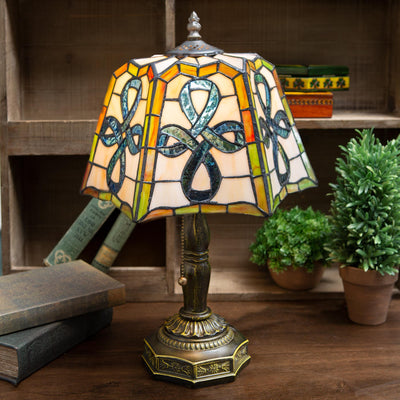 Celtic Top Pleated Lamp