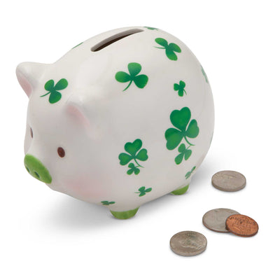 Shamrock Piggy Bank