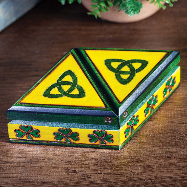 Celtic Double Shamrock Box
