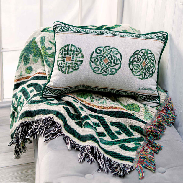 Celtic Knot Tapestry Throw