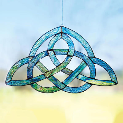 Celtic Glass Window Décor