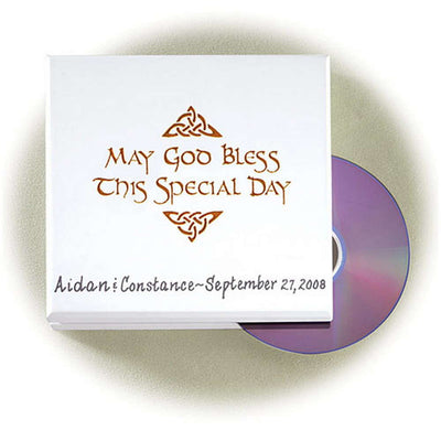 Personalized Special Occasion DVD Holder