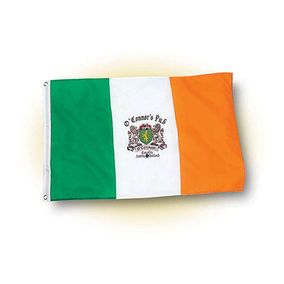 Personalized Irish Pub Flag