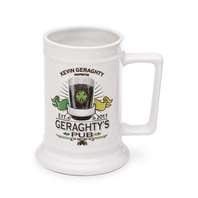 Personalized Pub Beer Stein