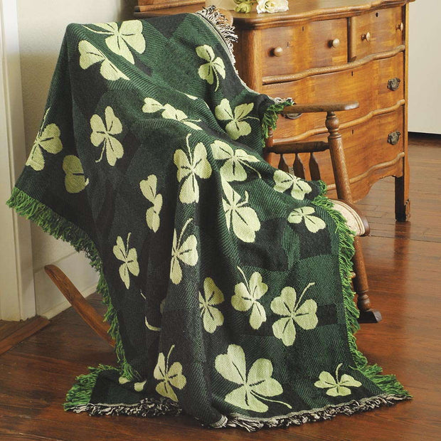 Shamrock Throw