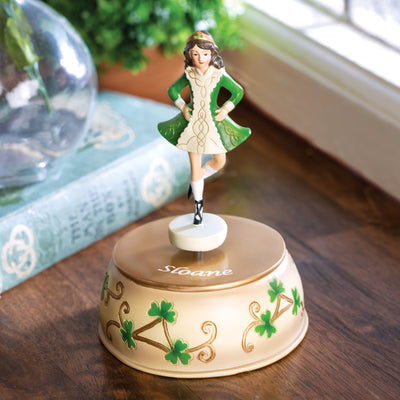 Personalized Musical Irish Dancer