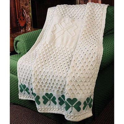 Shamrock Woven Throw