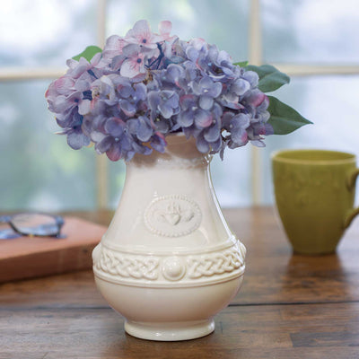 Belleek Claddagh Vase