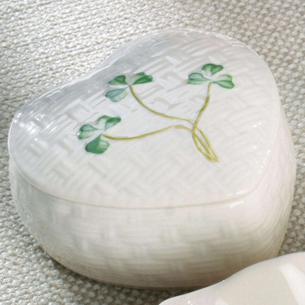 Belleek Kylemore Trinket Box