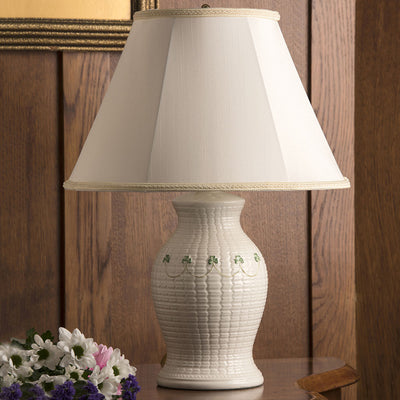 Belleek Braid Lamp