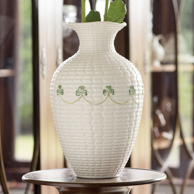 Belleek Braid Vase