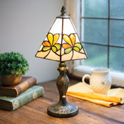 Variegated Shamrock Lamp