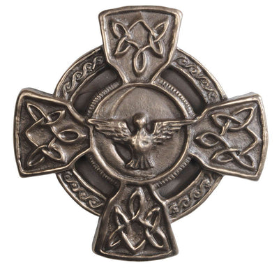 Celtic Dove Wall Cross