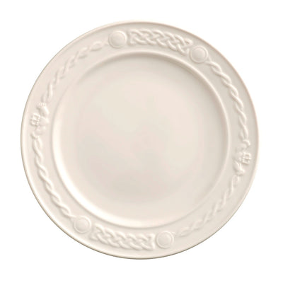 Belleek Claddagh Dinner Plate