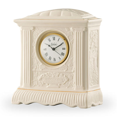 Belleek Mantel Clock