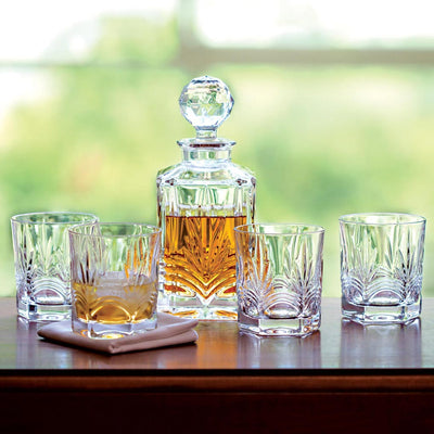 Galway Crystal Kells Decanter Set