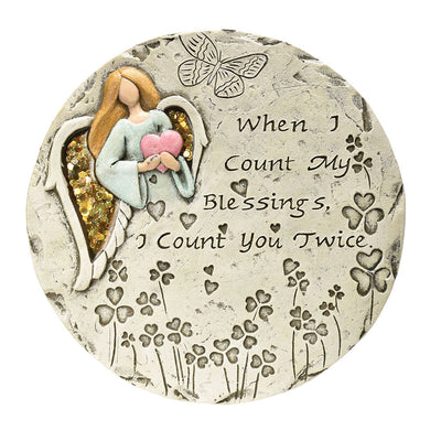 Count my Blessings Garden Stone