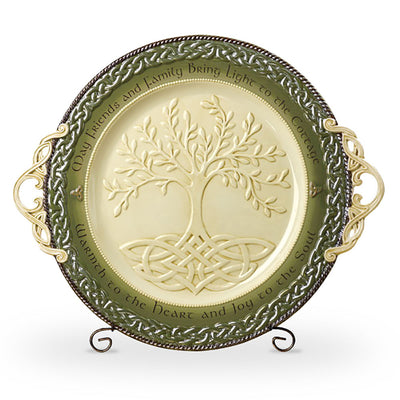 Tree of Life Serving Platter