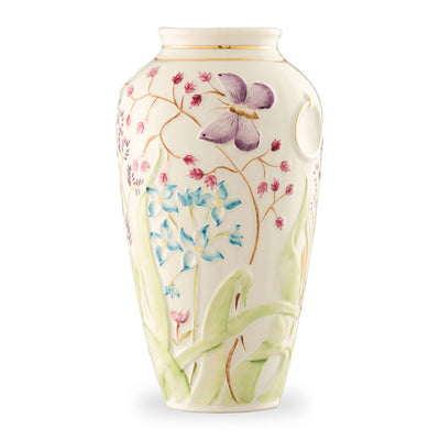 Belleek Papillon Vase