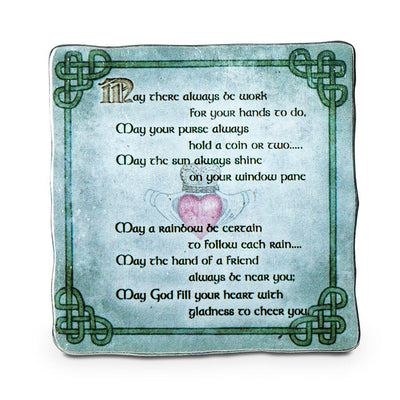 Irish Blessing Art Plaque