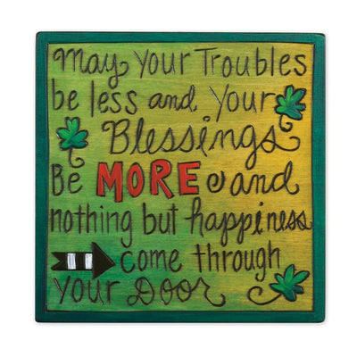 Irish Blessing Wood Plaque