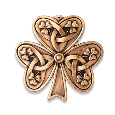 Irish Shamrock Plaque