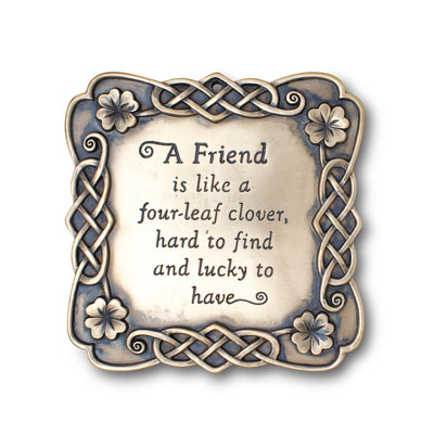 A Friend Plaque
