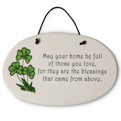 May Your Home Be Full Plaque