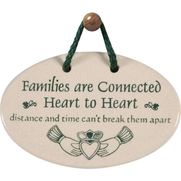 Irish Families Plaque