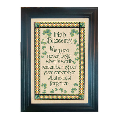 Framed Irish Blessing