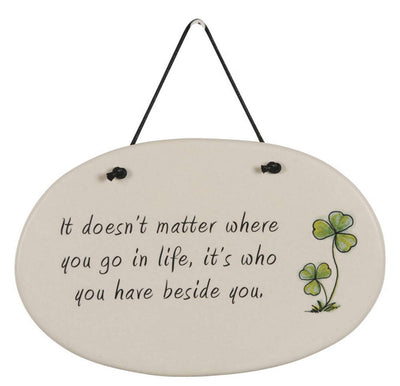 Have beside you Plaque