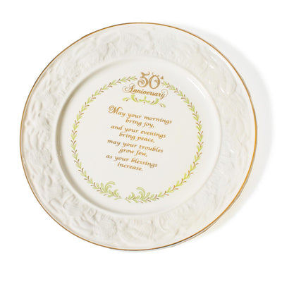 Belleek 50th Anniversary Plate