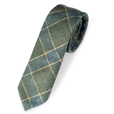 Quiet Man Tartan Plaid Tie