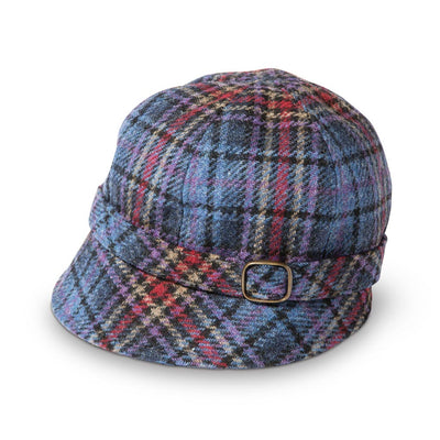 Plaid Flapper Hat
