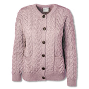 Pink Button Up Super Soft Cardigan