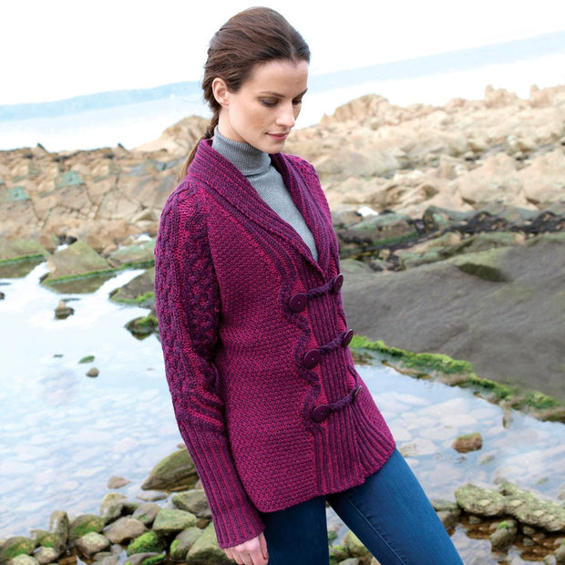 Plated Button Cardigan