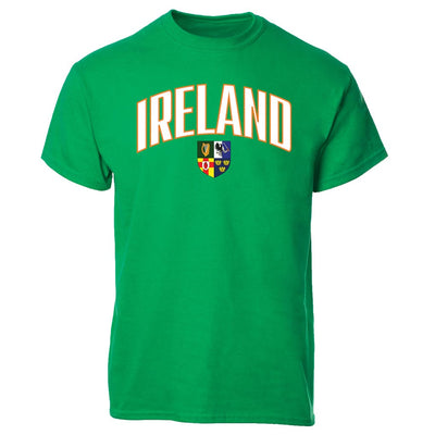 Personalized Ireland with Crest T-shirt